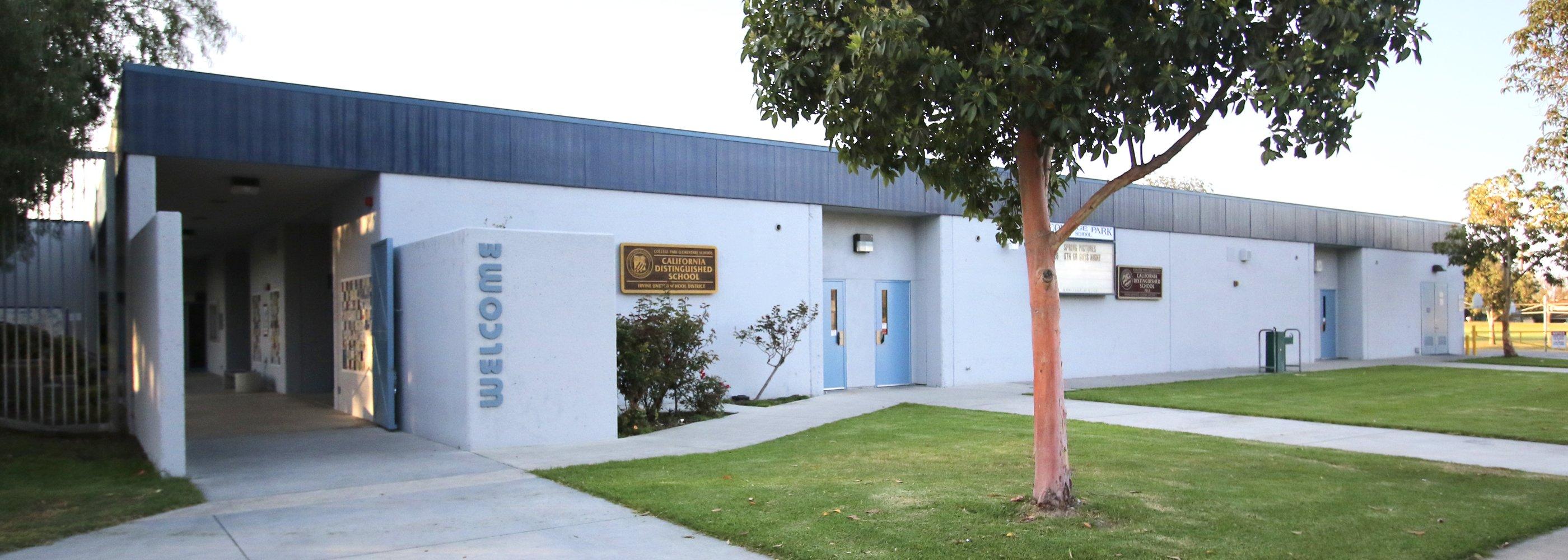 front of CP School