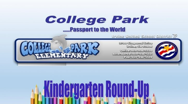 Kindergarten Round Up Photo